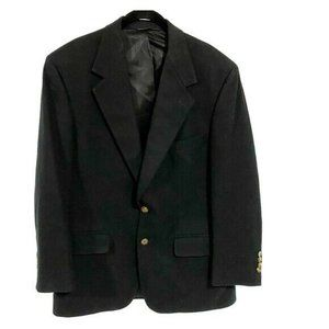 Grant Thomas 100% Cashmere Black Sport Coat